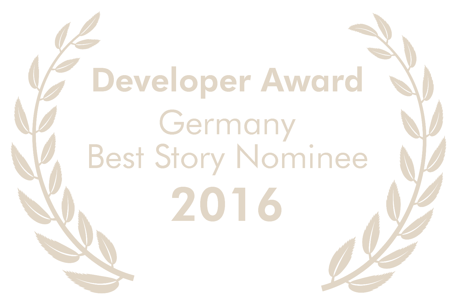 Nominated for Deutscher Entwicklerpreis - Best Story