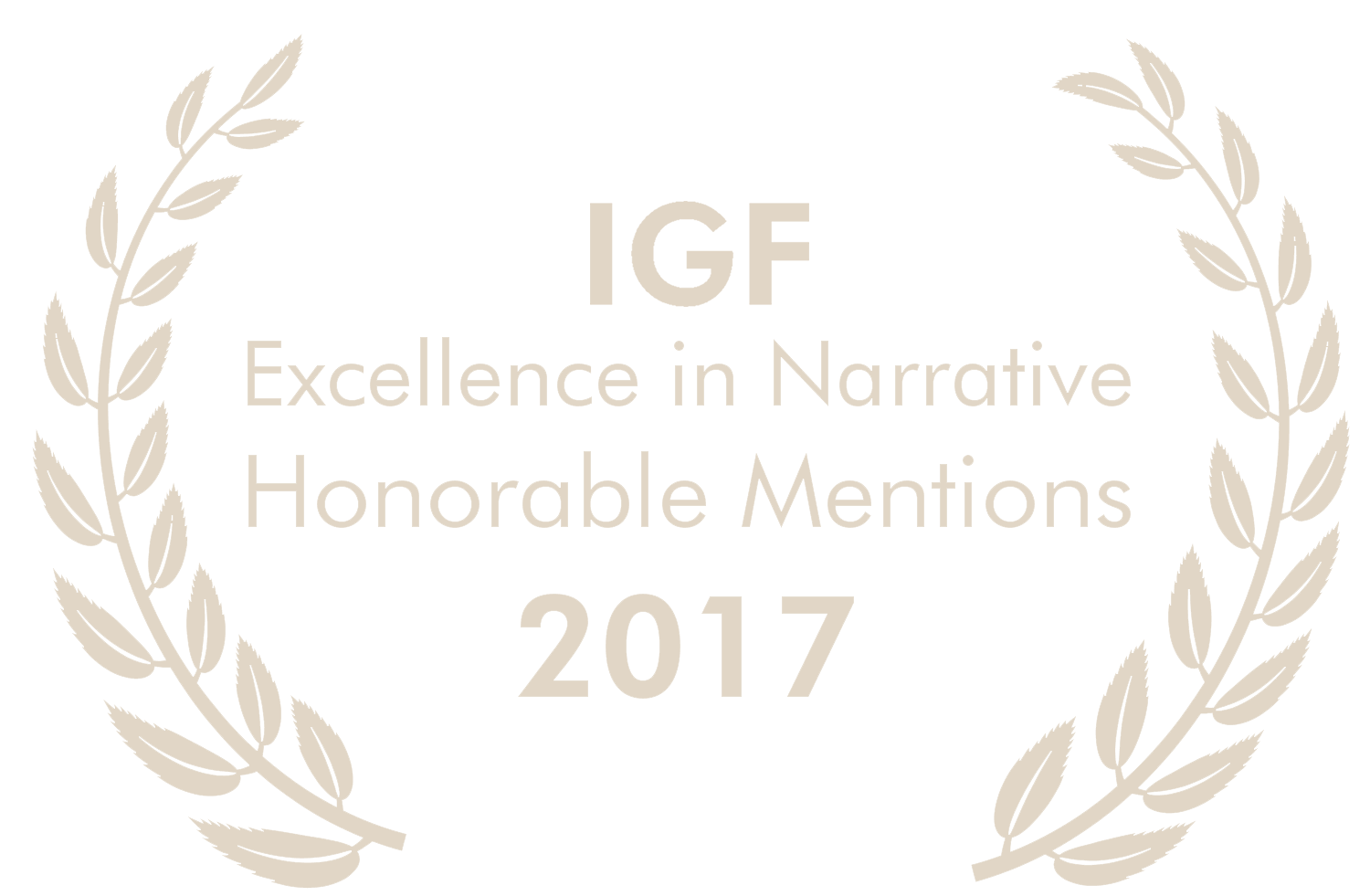 Honorable Mentions Excellence in Narrative 2017