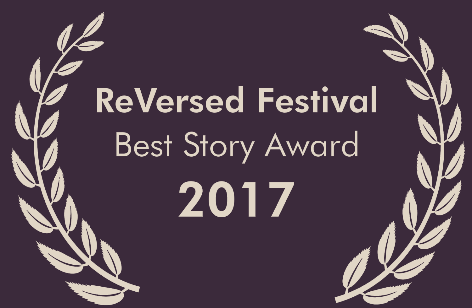 ReVersed Festival 2017 Best Story Award