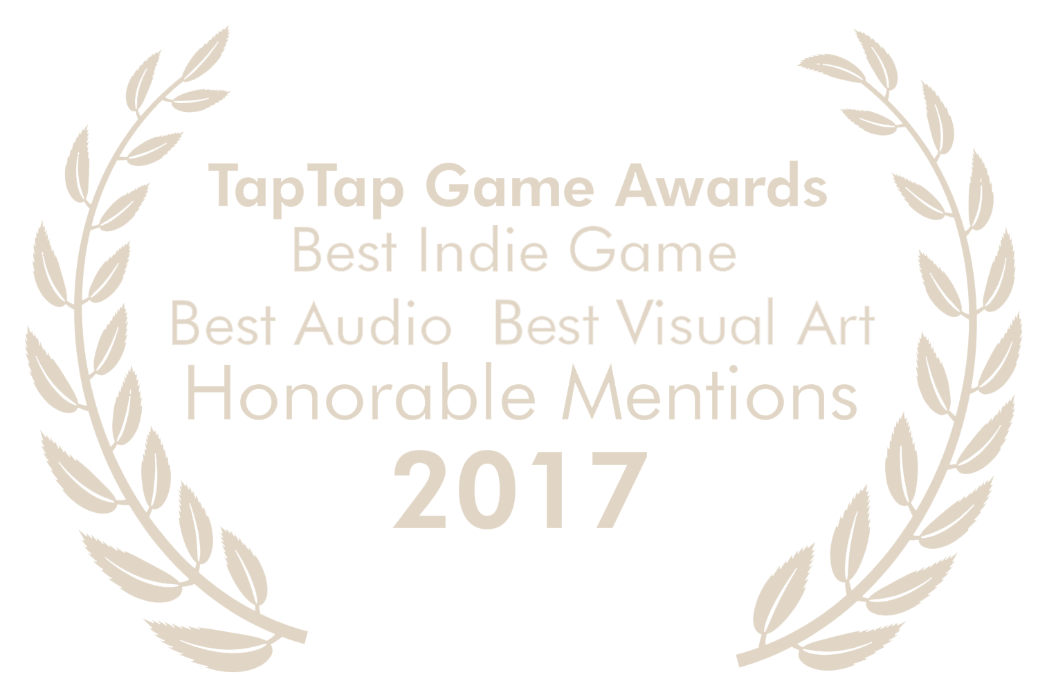 TapTap Game Awards 2017 - Best Indie, Best Audio, Best Visual Art